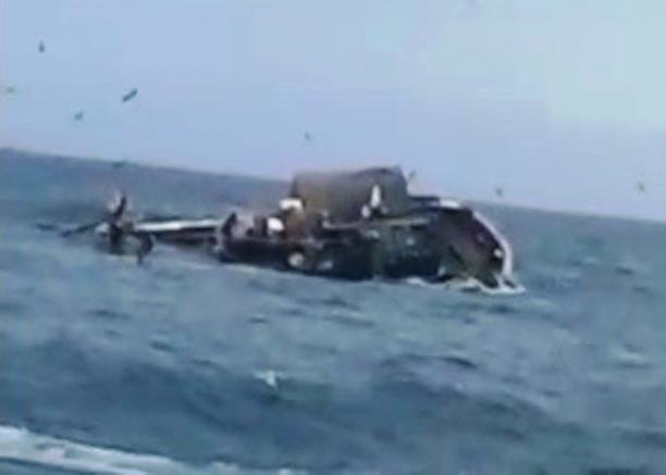بوجدور.. عطب ميكانيكي يتسبب في غرق مركب لصيد السردين